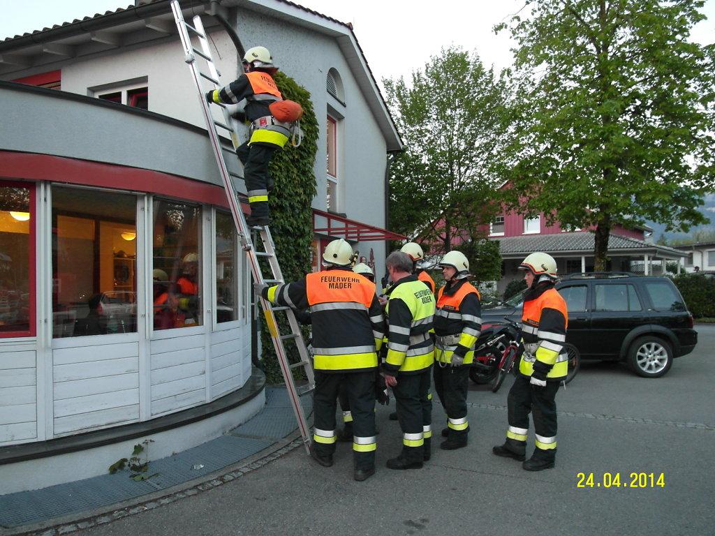 Probe Rettungsgeräte 24.4.2014