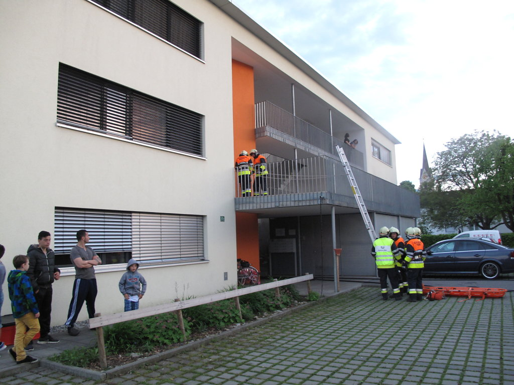 Probe Rettungsgeräte am 8.5.2014